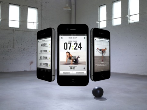Nike Training Club app, by AKQA