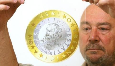 Miljenko Licul, Design for the Slovenian Euro, 2006