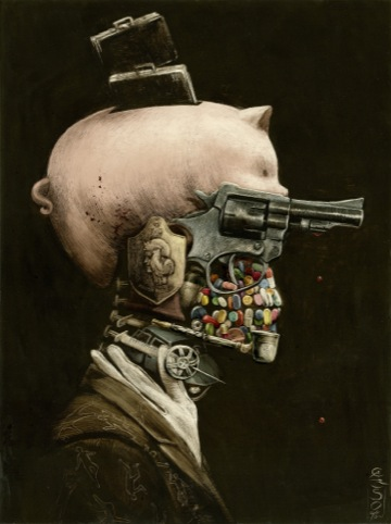 Portrait of Crime, Santiago Caruso