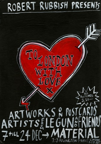 To London With Love flyer
