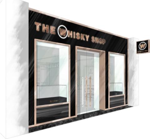 The Whisky Shop shopfront