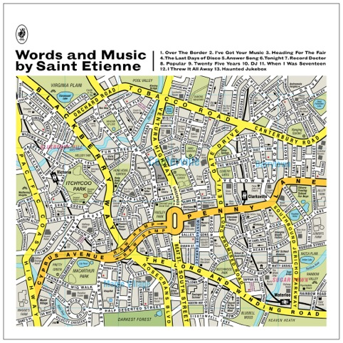 Saint Etienne, Words And Music