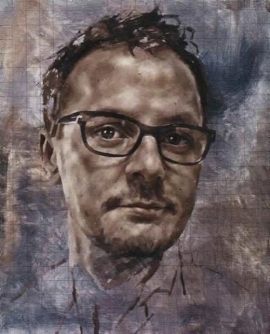 Jonathan Yeo self-portrait