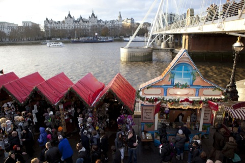 Last year's Southbank Centre Christmas Market