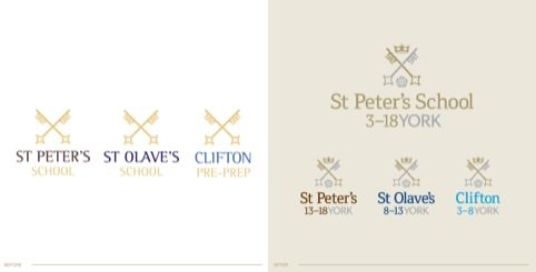 St Peters Before and After