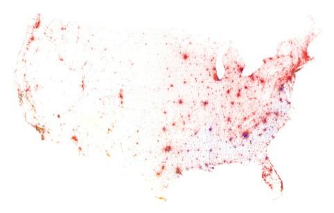 Racial make-up of the USA