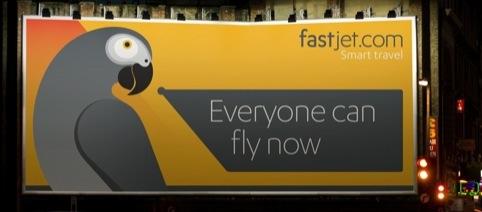 FastJet advertising