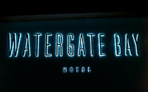 Watergate Bay hotel identity