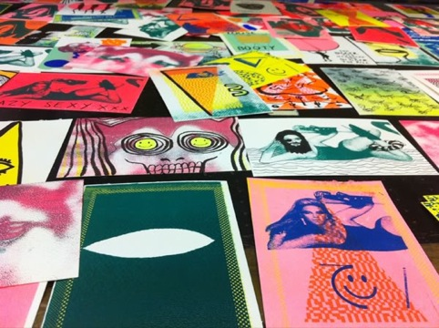 Works by Heretic Printmakers