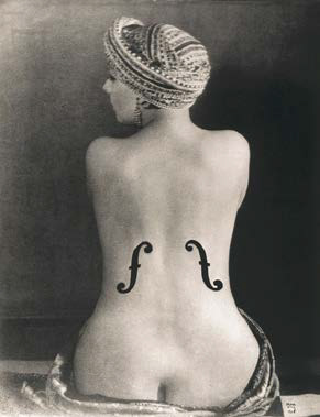Le Violon d'Ingres, 1924 by Man Ray Museum Ludwig Cologne, Photography Collections (Collection Gruber)