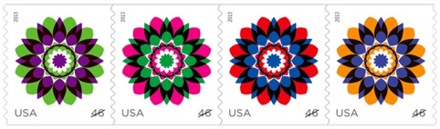 The stamp series