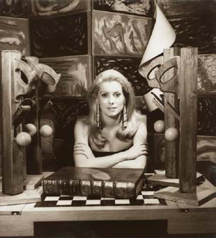 Catherine Deneuve, 1968 by Man Ray Private Lender