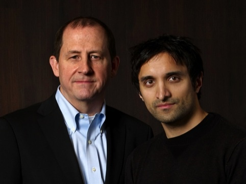 Tom Bedecarré and Ajaz Ahmed of AKQA
