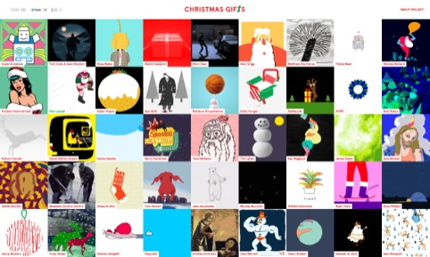 Christmas Gifs Website