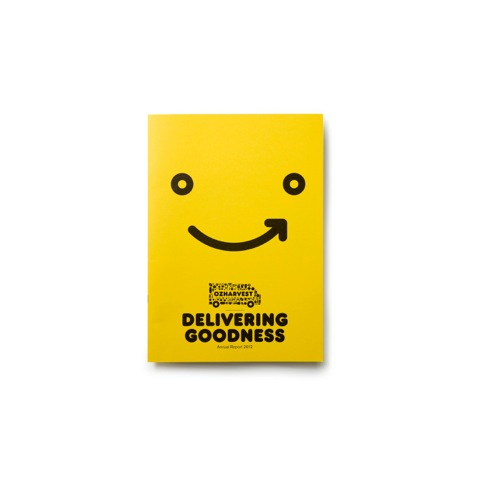 OzHarvest annual report cover