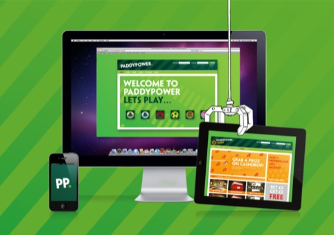 Paddy Power's on-screen look