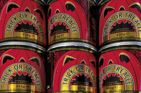 Design Bridge's Halloween packaging for Tate and Lyle's Black Treacle