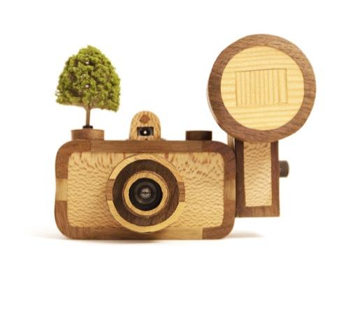 Hattie Newman's woodland-style camera