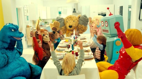 IKEA's 'Playing with my friends' by Mother London