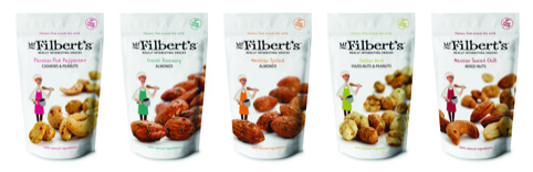 The Mr Filbert's range