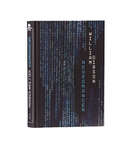 Neuromancer: design and illustration by Clare Skeats