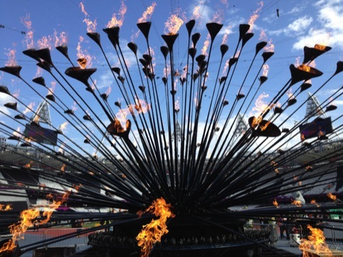 Heatherwick Studio's London 2012 Olympic Cauldron