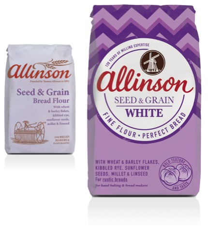Allinson Flour before and after