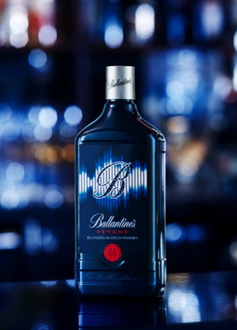 The new Ballantine's Finest packaging