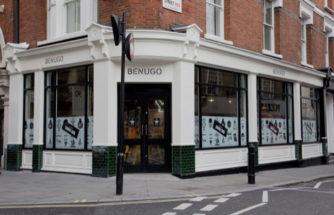 Ico design rebrands benugo design week for Hobo designs covent garden