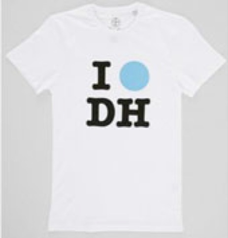 Damien Hirst t-shirt, designed by Kit Grover for the the Gagosian Gallery Spot exhibitions in 2012