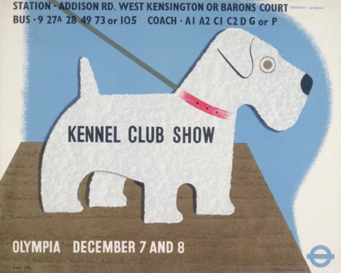 Kennel Club Show, by Tom Eckersley and Eric Lombers, 1938
