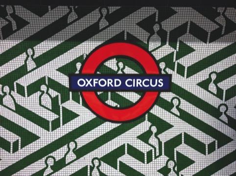 Oxford Circus mural