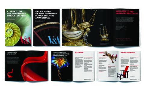 V and A Schools materials