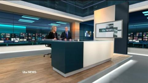 The new ITV News set