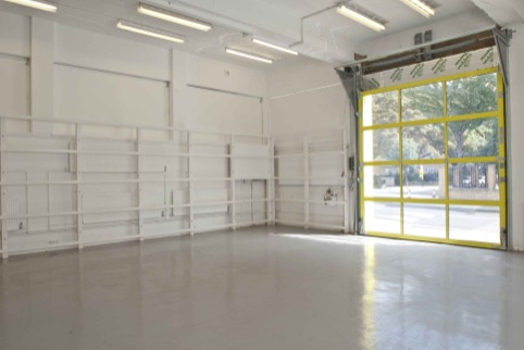 The Showroom space