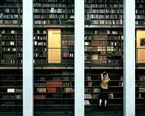 Thomas Zanon-Larcher, Nora Deichmannske Library, Oslo, August 2006