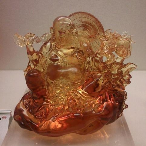 Tittot glass Buddha