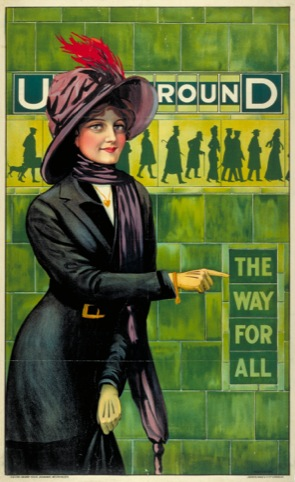 Underground; the way for all, by Alfred France, 1911