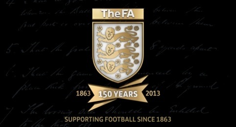 The FA's 150 year anniversary crest by Designroom Sport