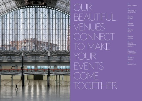 Seven venues are now linked up at Olympia London