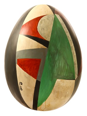 Razzle Dazzle Egg 13, by Billy Childish