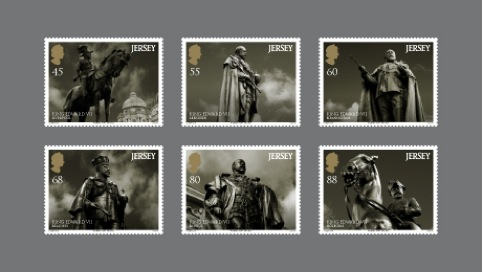 The six stamps