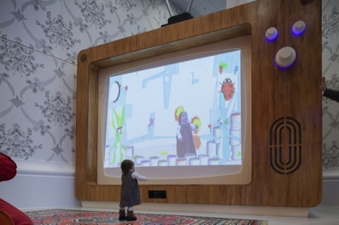 Chris O'Shea has designed the Woodland Wiggle interactive with Nexus Interactive Arts