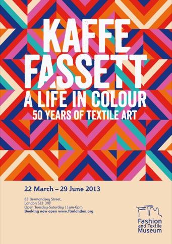 Kaffe Fassett poster