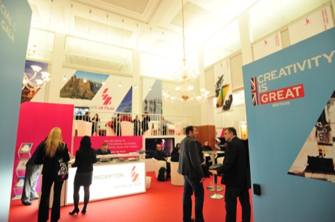 The branding shown at the Berline 2013 stand