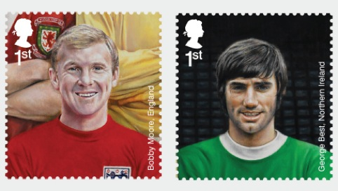 Bobby Moore and George Best