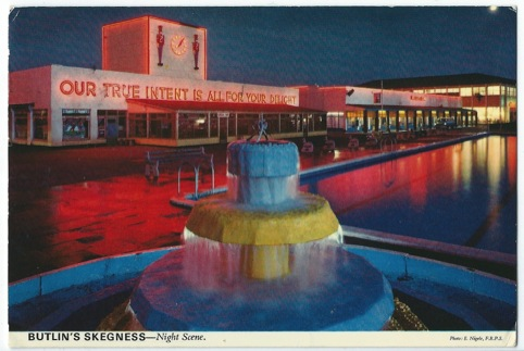 From the Notes Home exhibition: Butlins
