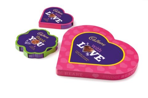 Cadbury's gifting range