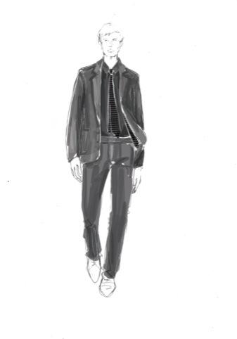 Eley Kishimoto Centre Point suit design