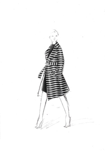 Eley Kishimoto Centre Point trench coat design